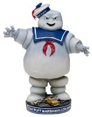 Ghostbusters Head Knocker-stay Puft Marshmallow Man - NECA