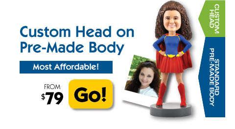 Standard Body Bobbleheads